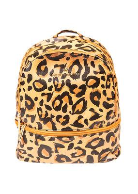 ***Cheetah Leather Backpack
