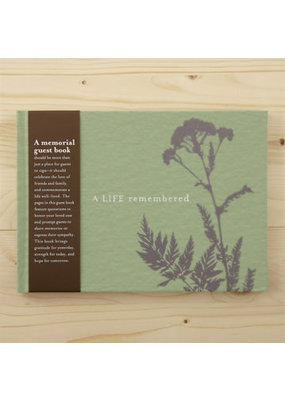 ***A Life Remembered Memorial Guest Book
