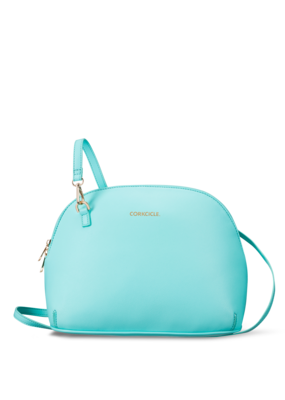 Corkcicle ***Adair Turquoise Cross Body Lunch Box