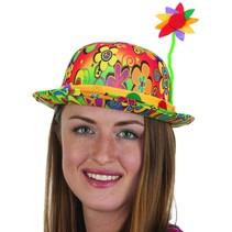 ***Peace Clown Hat