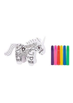 ***Mini Unicorn Coloring Kit