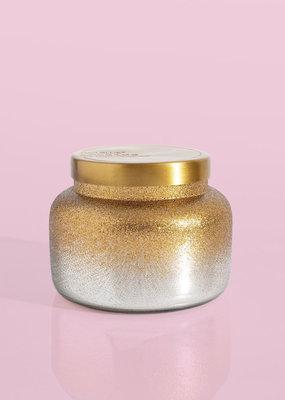 Capri Blue ***Capri Blue Silver Glittered Crystal Pine 19oz Jar