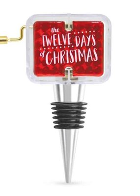 Wild Eye Designs ***The Twelve Days of Christmas Box Wine Stopper