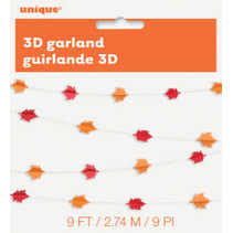 ***3D Garland Leaves Paper Garland