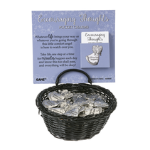 ***Encouraging Thoughts Angel Pocket Tokens