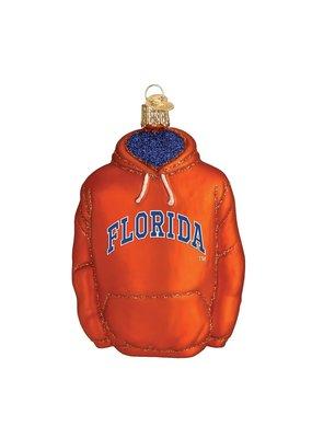 Old World Christmas ***University of Florida Sweatshirt Ornament