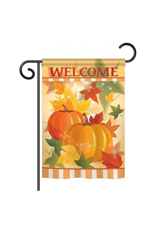 *****Welcome Fall Pumpkins Garden Flag