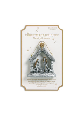 ***Nativity Scene Ornament