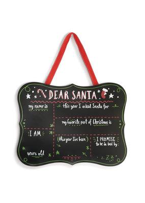 ***Dear Santa Chalkboard