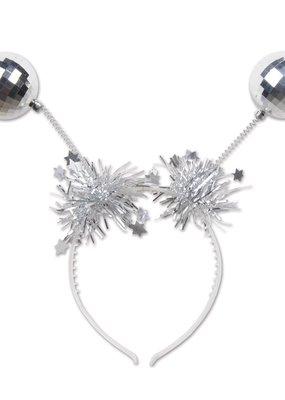 ***Silver Ball Boppers Headband