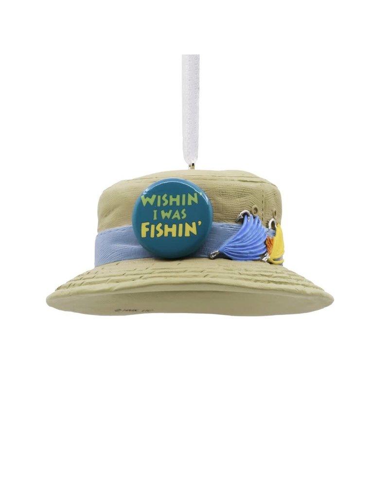 ***Fishing Hat Hallmark Ornament