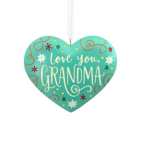***Love You, Grandma Heart Hallmark Ornament