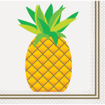 ***Pineapple Beverage Napkins 24ct