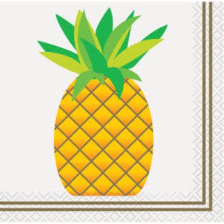 ***Pineapple Beverage Napkins 24ct