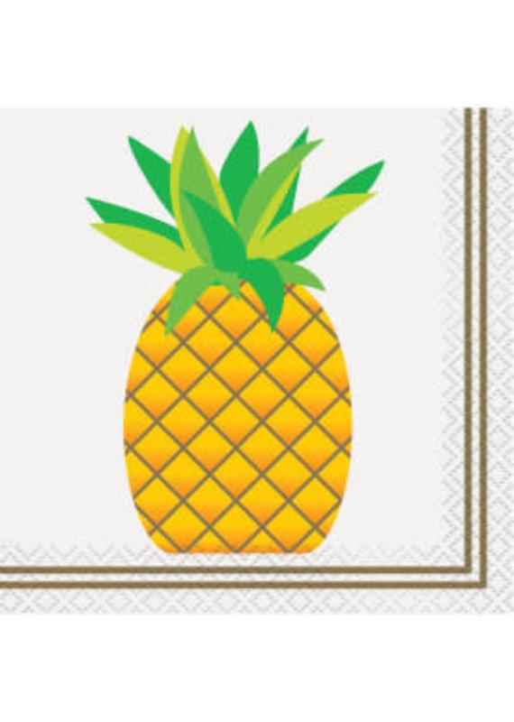 ****Pineapple Beverage Napkins 24ct