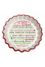 Occasionally Made ***12 Days of Christmas in Florida Tart Plate