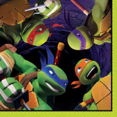***Ninja Turtles Beverage Napkins 16ct