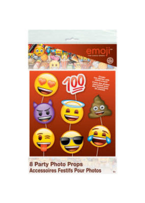 Emoji Photo Props 8ct