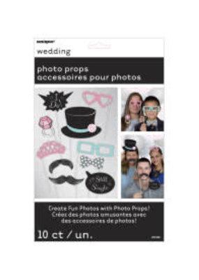 ***Wedding Photo Props 10ct