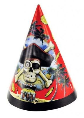***Pirate Bounty Party Hats