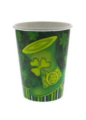 ***Lucky Stripes 9oz Cup 8ct