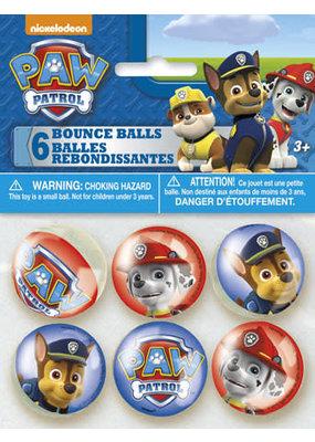 ***Paw Patrol Bounce Balls 6ct