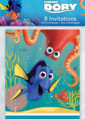 ***Finding Dory Invitations 8ct
