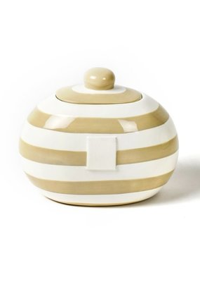 Cotton Colors ***Happy Everything Mini Small Dot Neutral Cookie Jar