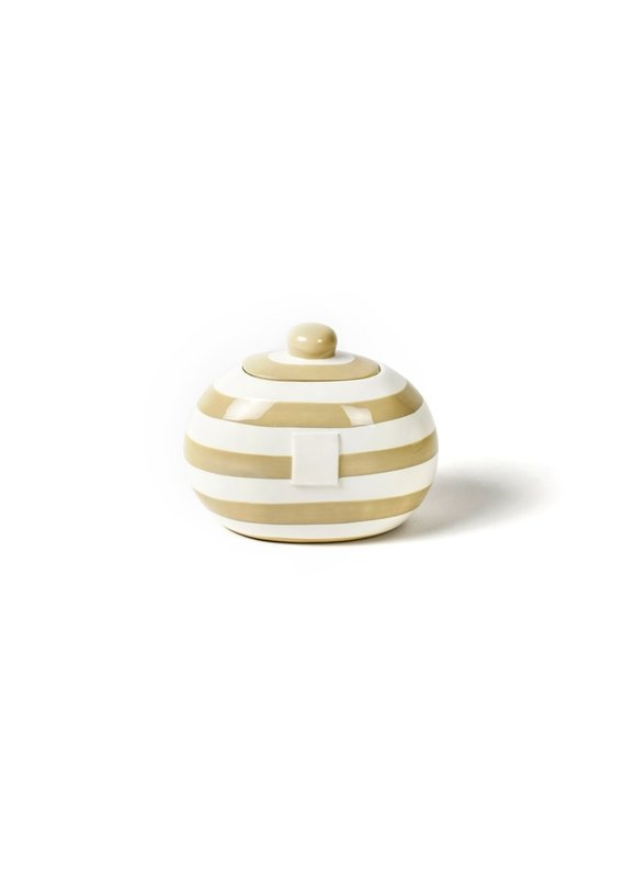 Cotton Colors *****Happy Everything Mini Small Dot Neutral Cookie Jar