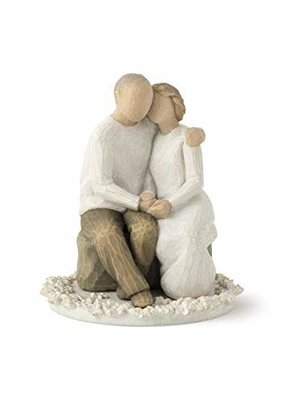 ***Willow Tree Anniversary Cake Topper