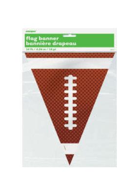 Football Plastic Flag Banner 14ft