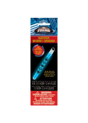 ****Spiderman Glow Light Stick 1ct
