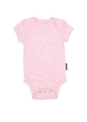 EverEllis ***Party at my Crib Onesie Size 0-3 Month