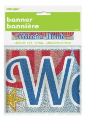***Welcome Home Foil Banner 9ft