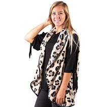 ***Cheetah Print Vest