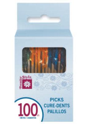 Frill Cocktail Picks 100ct Box