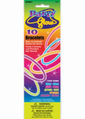 Glow Bracelets 10ct Assorted Colors