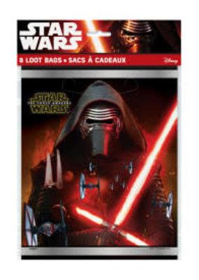 ***Star Wars Episode VII Loot Bags 8ct