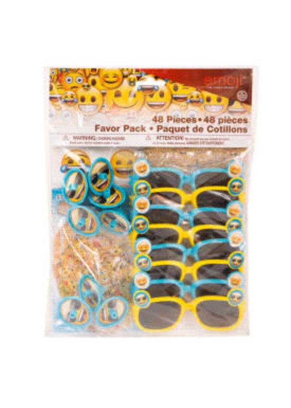 ****Emoji favor pack 48 pieces
