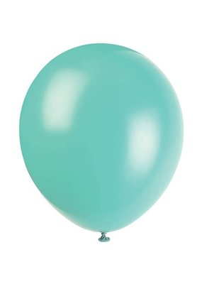 "***12"" Latex Balloons, 10ct - Teal"