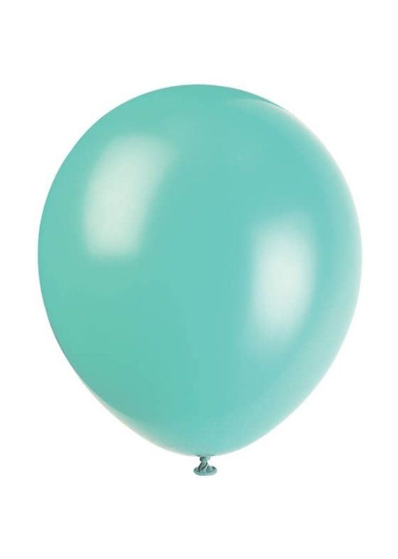 "****12"" Latex Balloons, 10ct - Teal"