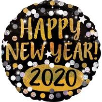 ***Happy New Year 2020 Mylar Balloon