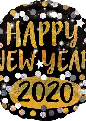 ***Happy New Year 2020 Mylar Balloon