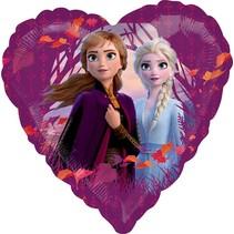 ***Frozen II Heart Shape Mylar Balloon