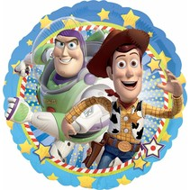 "***Toy Story Woody & Buzz 18"" Mylar Balloon"