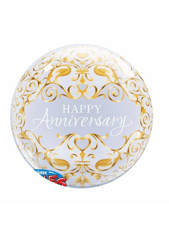 ***Anniversary Classic Bubble Balloon