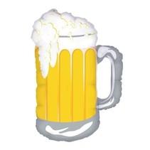 "***Frosty Beer Mug 34"" Mylar Balloon"
