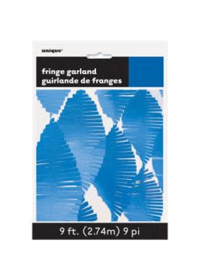 ***Royal Blue Fringe Garland 9ft