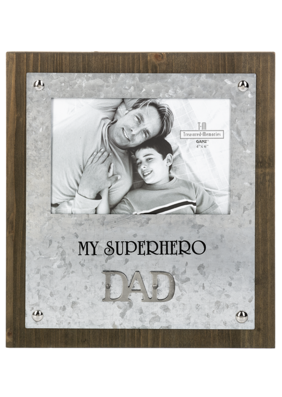 ****My Dad Superhero Frame