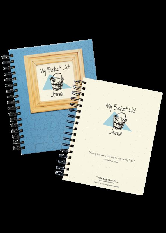 Journal Unlimited ****My Bucket List Journal